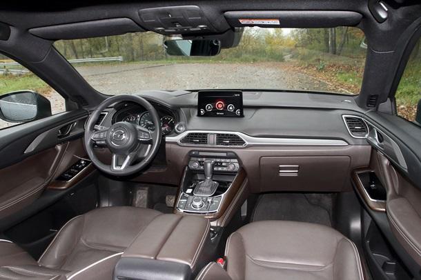 Настоящий кинг-сайз: обзор обновленной Mazda CX-9 2