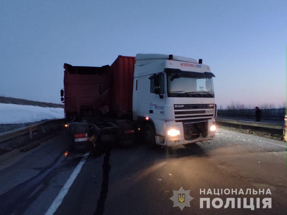 Под Одессой произошло смертельное ДТП / фото Нацполиция1
